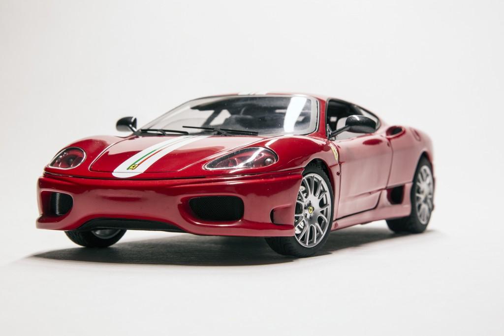 Ferrari F360 CS - Hotwheels Elite 00