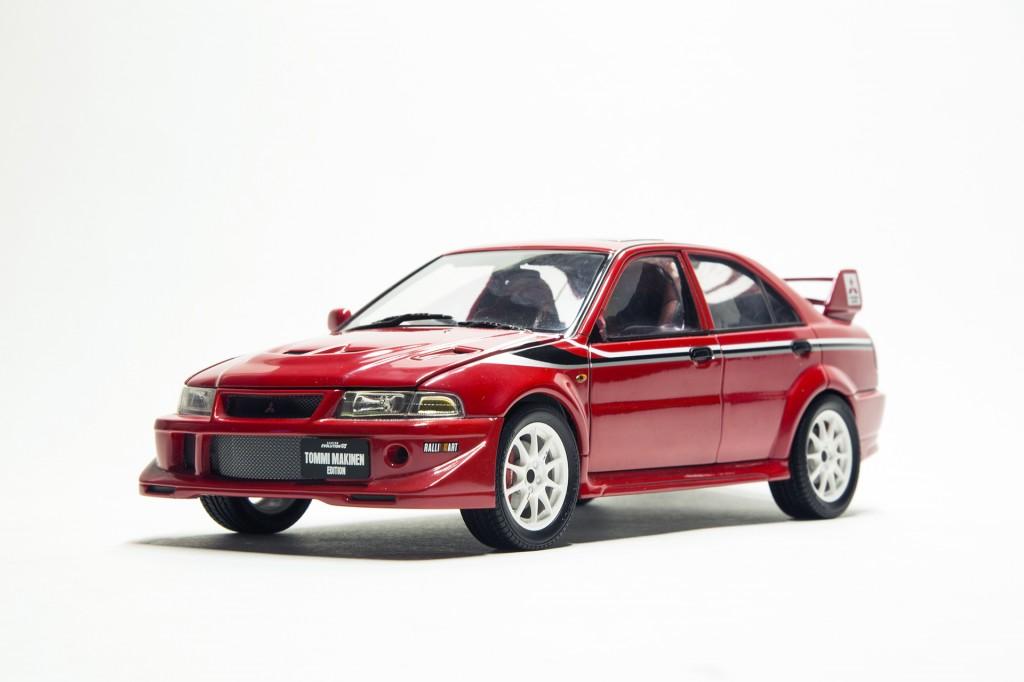 Mitsubishi EVO VI TME Autoart 00